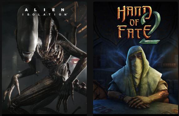 [gratis] Alien: Isolation en Hand of Fate 2 @EpicGames (vanaf 22 april tot 29 april)