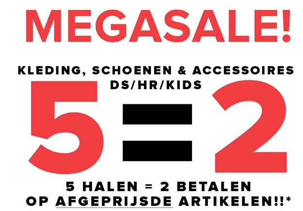 [UPDATE] 5 Halen 2 betalen op topmerken SALE - dames - heren - kids @ Topshelf (instore)