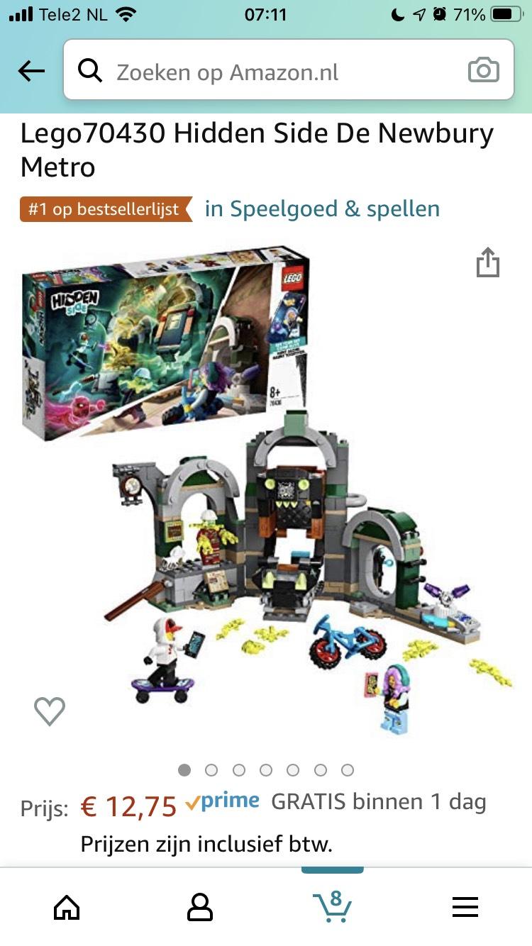 (Weer voor €12,75!) Lego Newbury metro 70430
