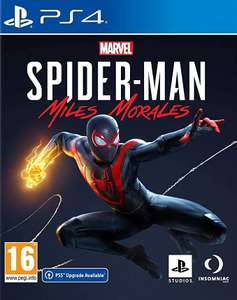 Marvel's Spider-Man: Miles Morales, PS4 (Gratis PS5 upgrade)