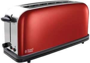 Russell Hobbs Colours Long Slot broodrooster voor €17 @ Amazon.nl