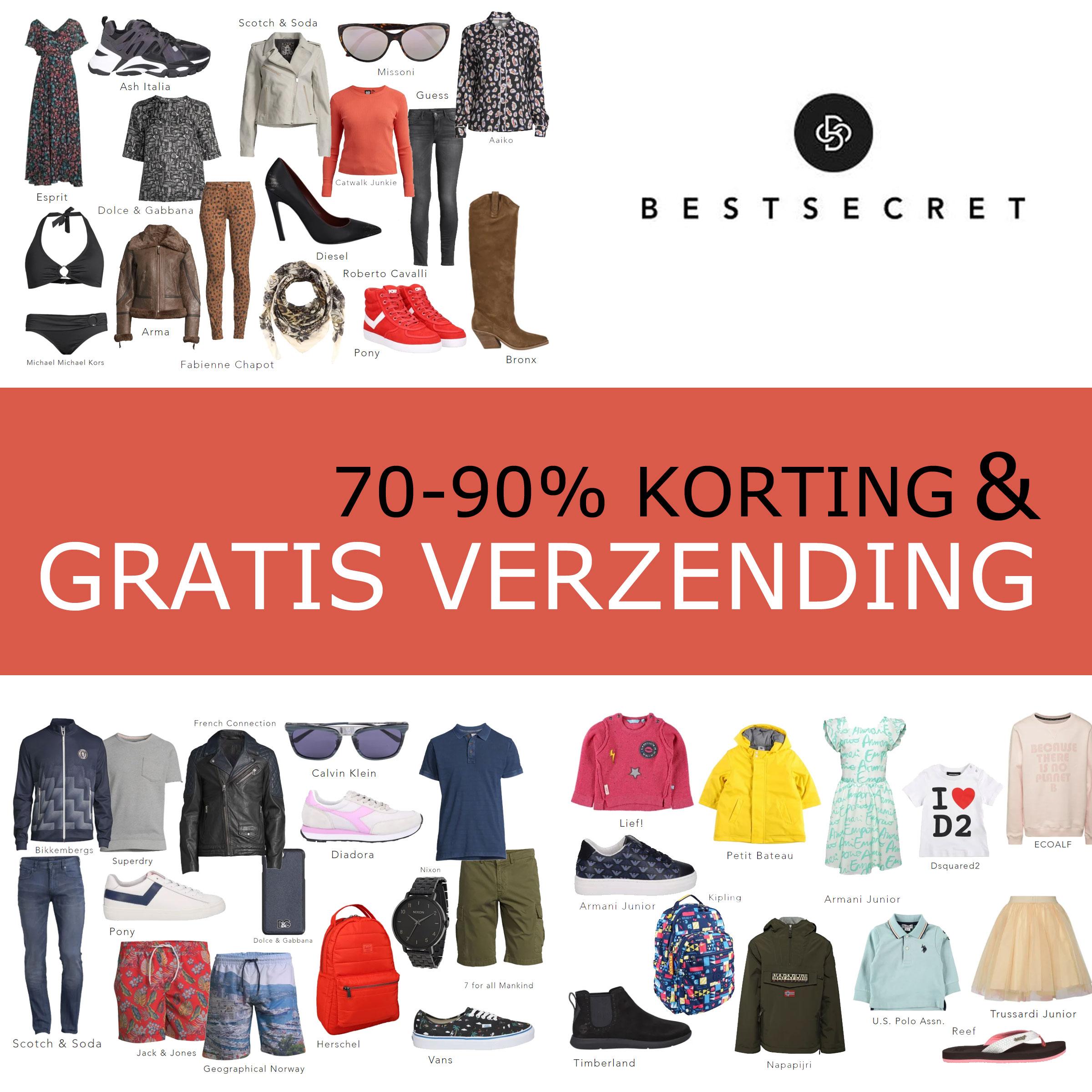 Nieuwe sales vanaf 70% korting + gratis verzending t.w.v. €5,90