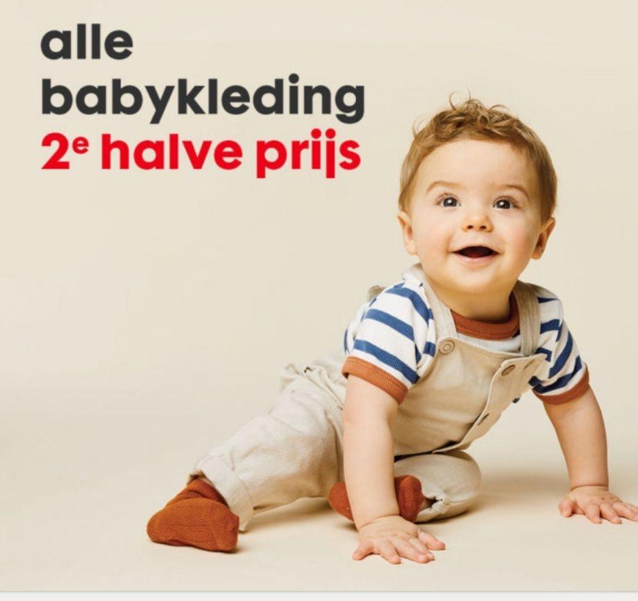 Hema alle babykleding 2de halve prijs