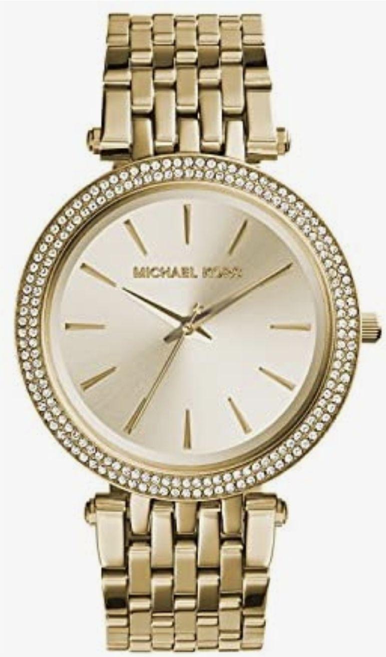 Moederdag cadeau! MK3191 Darci goudkleurige horloge
