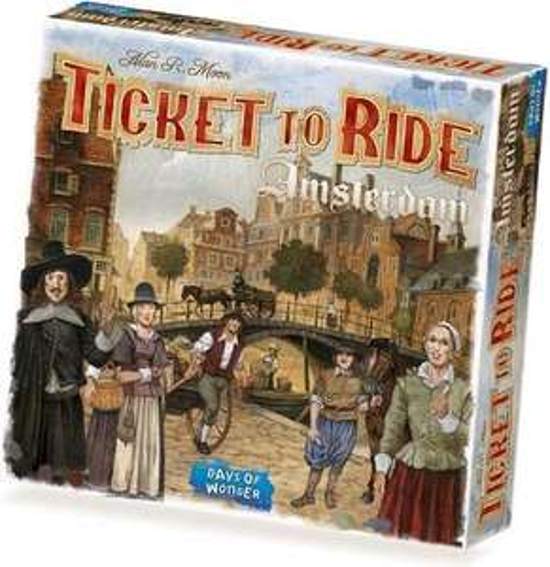 Ticket to ride Amsterdam dagdeal bij Bol.com
