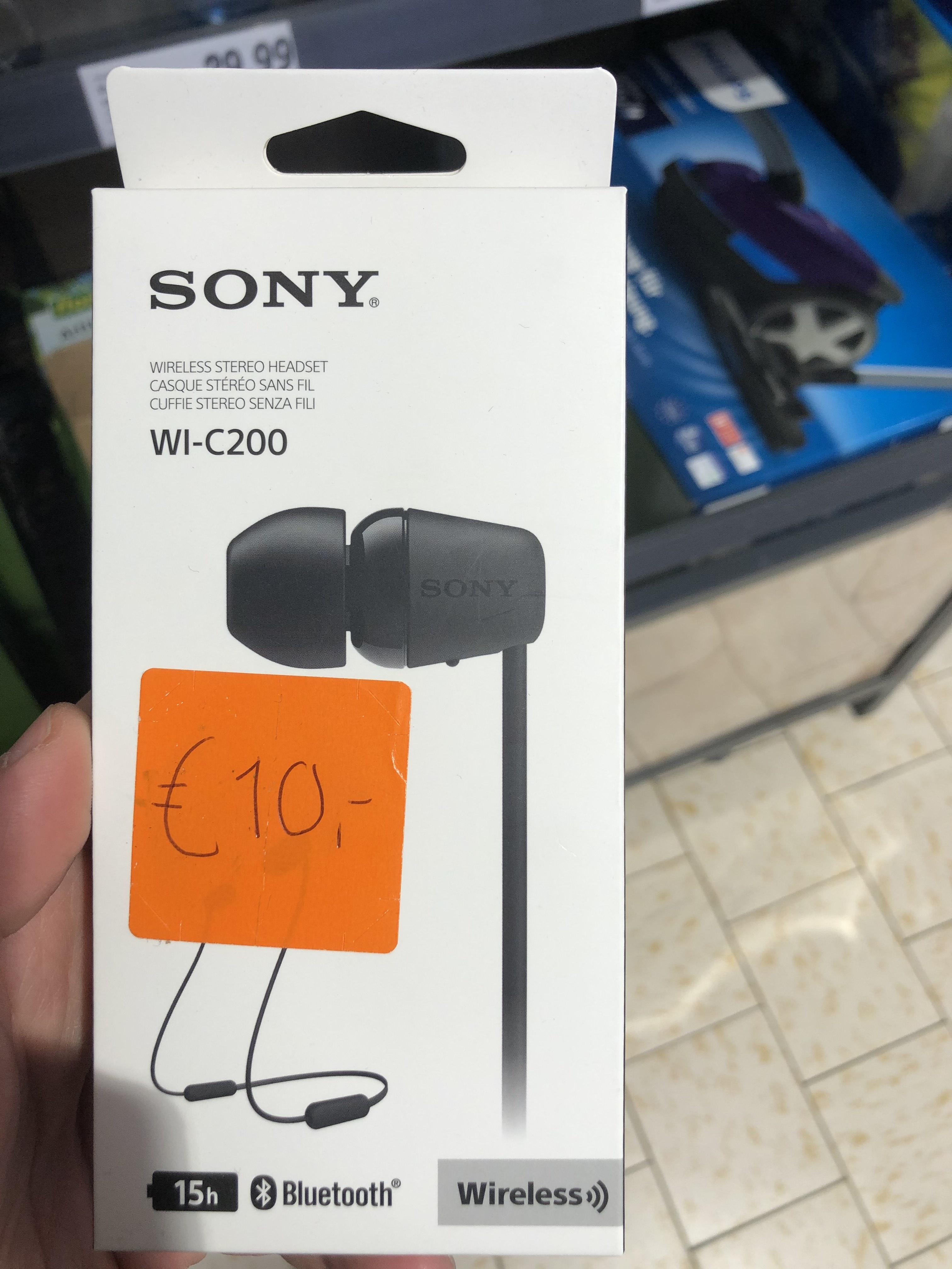 [Lokaal] Sony WI-C200 Wireless Headset -Lidl