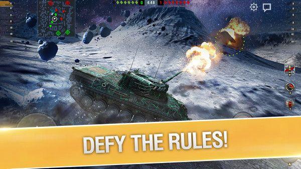 Gratis (Steam) DLC: World of Tanks Blitz - Space Pack