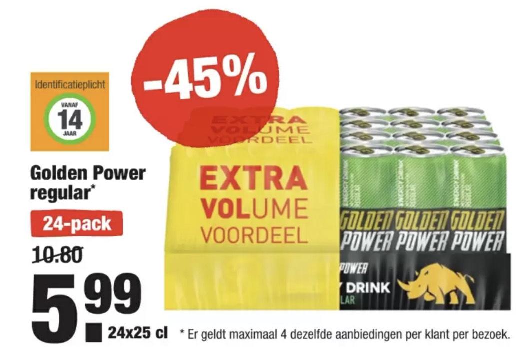 Golden Power (24-pack, vanaf ma 19-04)