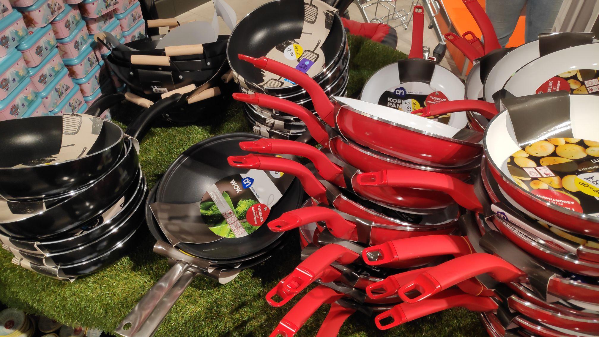 [Lokaal?] Keramische pan voor €2,87, wokpannen vanaf €5