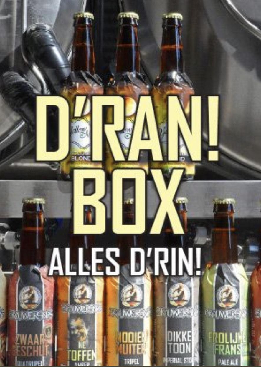 Brouwersnos D'ran Box - 12 x 33cl flesjes bier