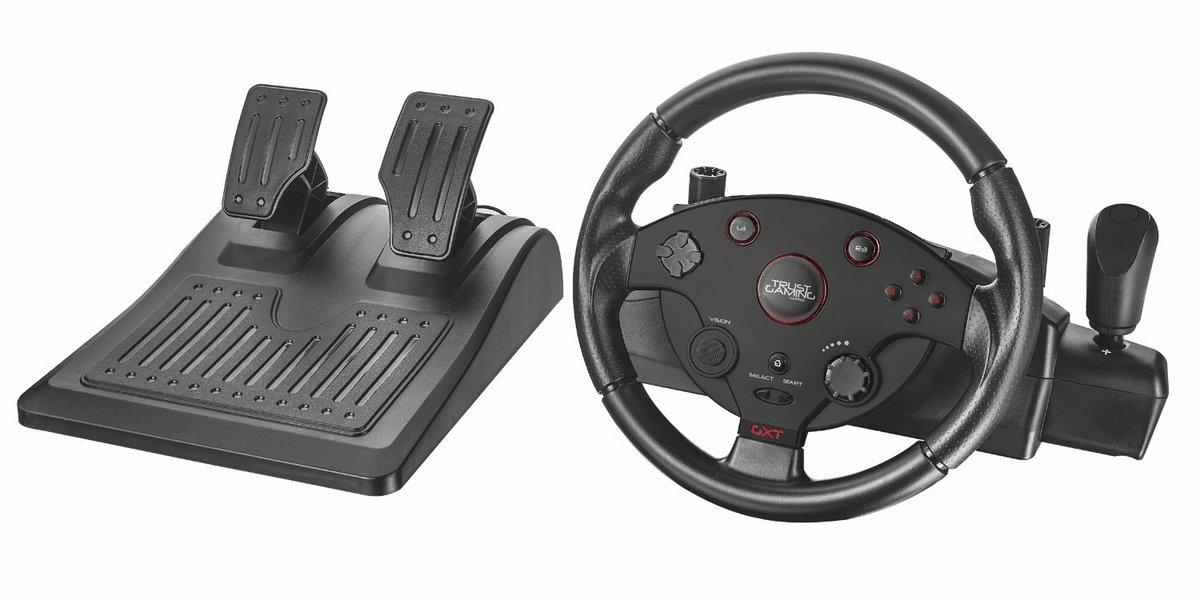 Trust GXT 288 Racestuur (PC + PS3) voor €79,99 @ Media Markt / Bol.com