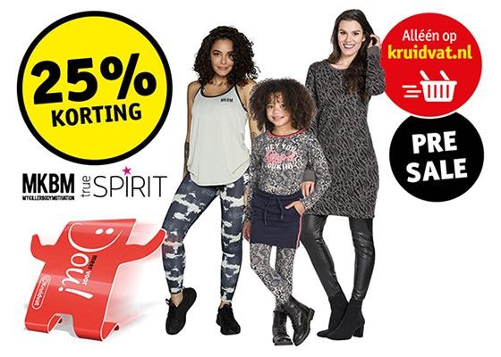 Online kleding uitverkoop bij Kruidvat.nl