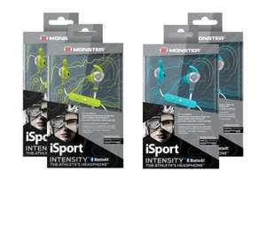 2x Monster iSport Intensity Bluetooth In-ear