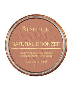 Rimmel - Natural Bronzer - Brown Powder - Sun Light.