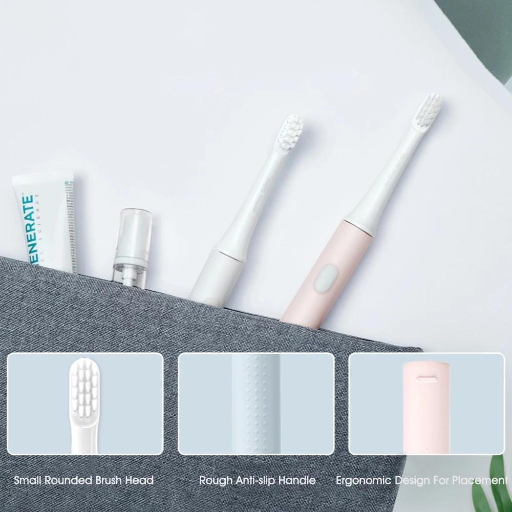 Xiaomi Mijia T100 elektrische tandenborstel voor €7,75 met coupon @ Gshopper