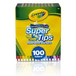 Crayola supertips viltstiften 100 stuks @ Pipoos