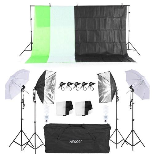 Andoer Fotografie / Fotostudio Kit,s