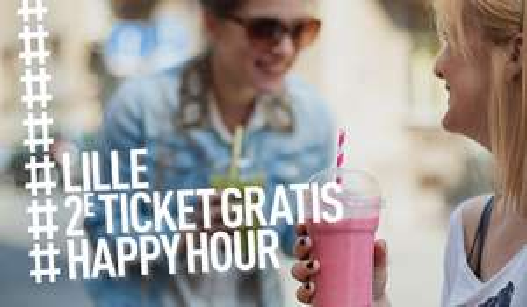 2e Ticket naar Lille GRATIS @ Thalys