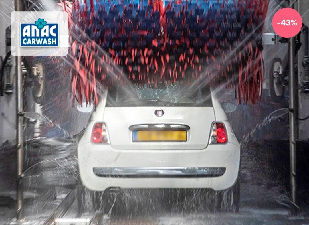 Autowasbeurt @ ANAC Arnhem/ Den Bosch voor €8,50