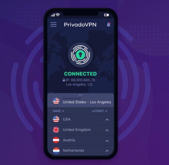Privado VPN jaarplan (12 maanden)