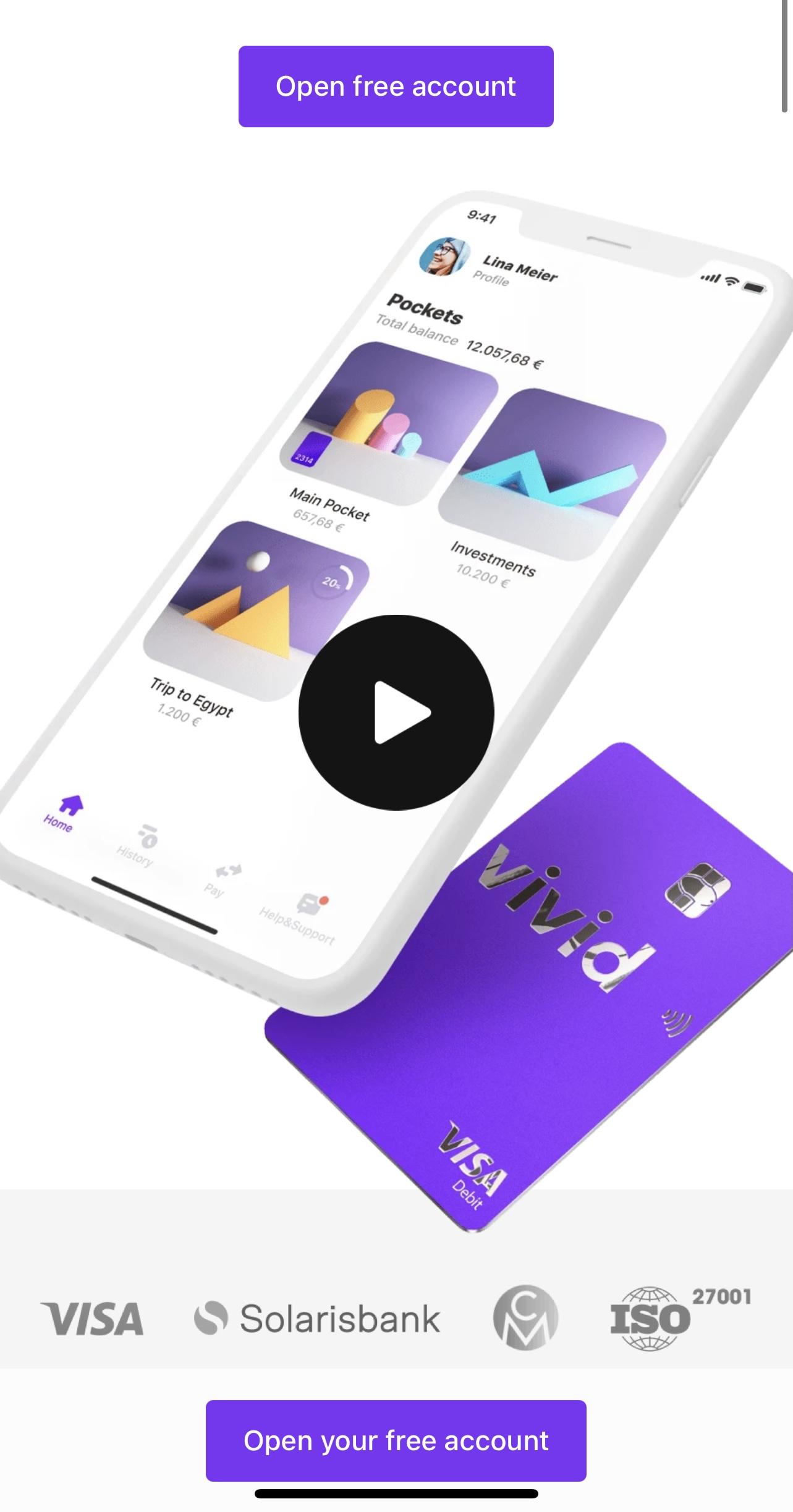 Vivid - Nieuwe cashbacks & €20,-