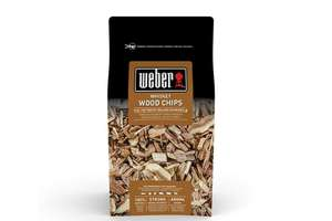 Weber hickory & whiskey wood chips (rookhout)
