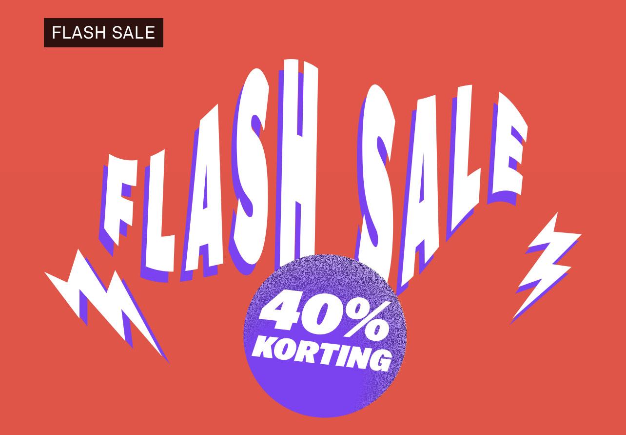 Flash Sale bij Happy Socks 40%