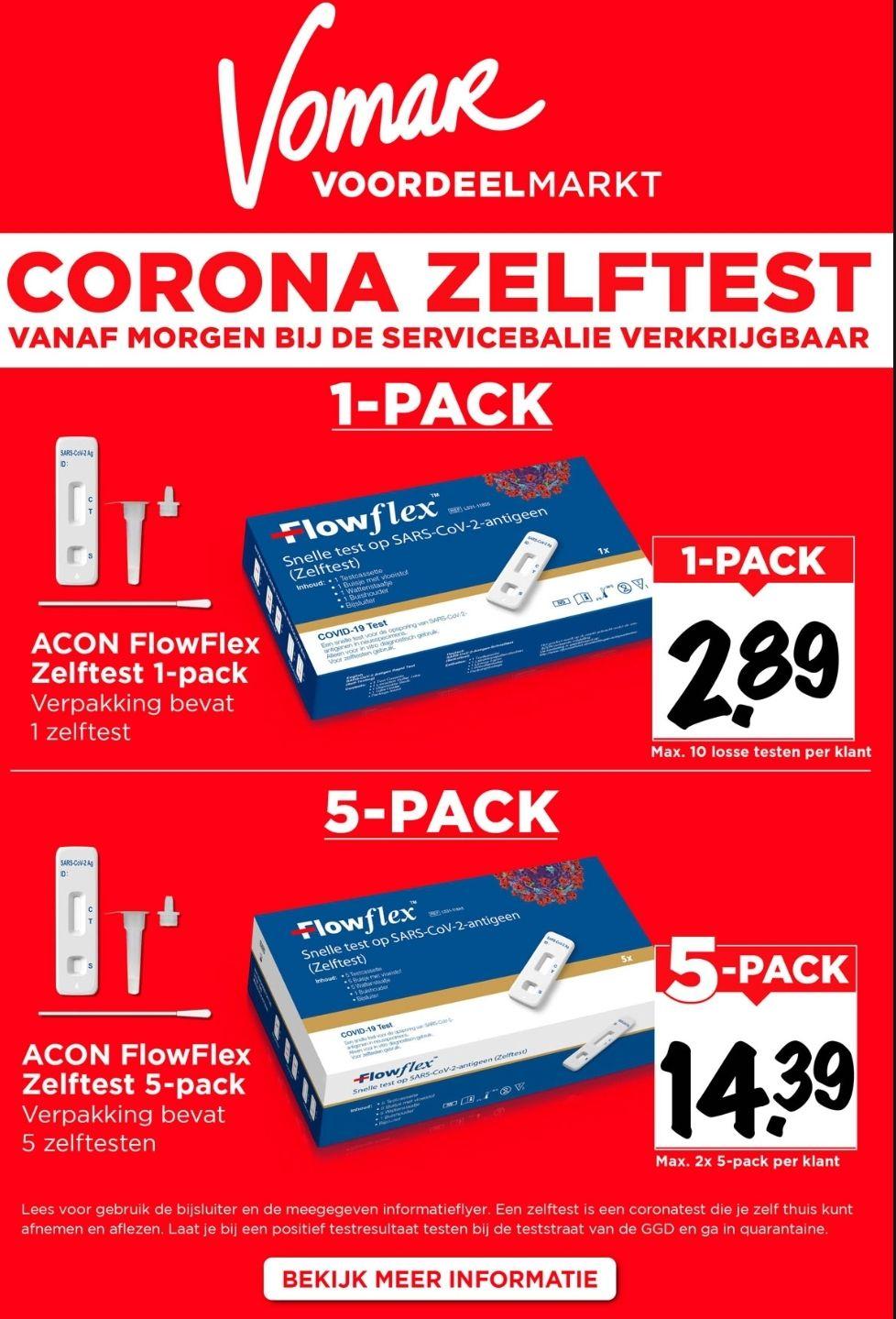 Corona zelftest