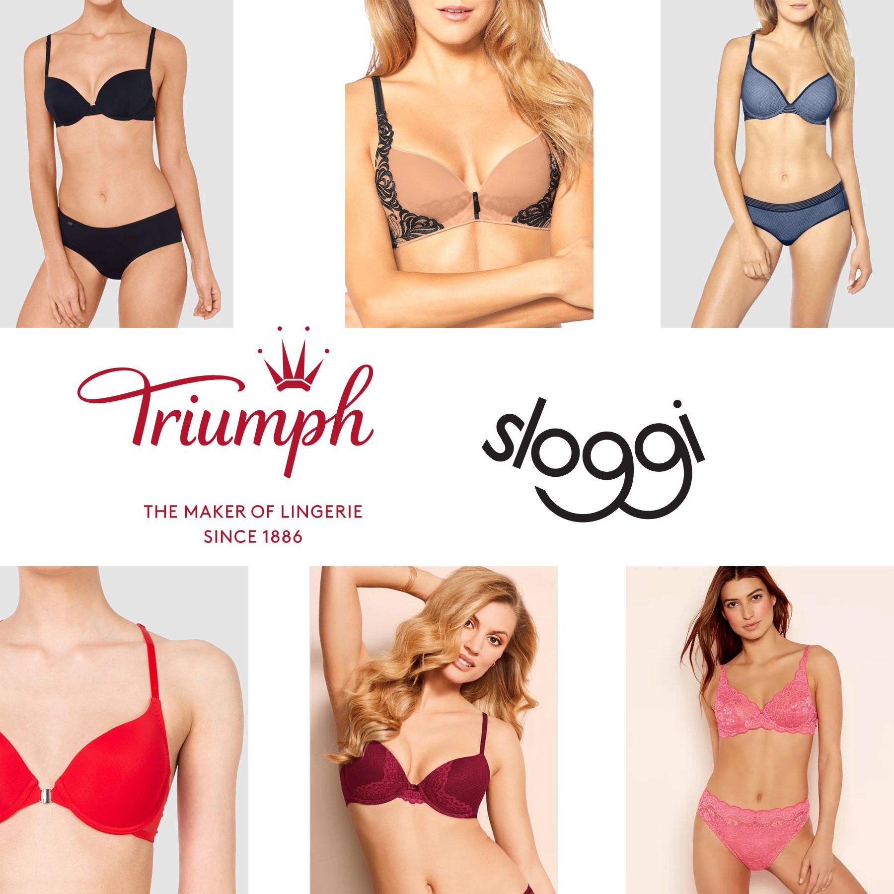 Triumph & Sloggi -70% + 20% EXTRA