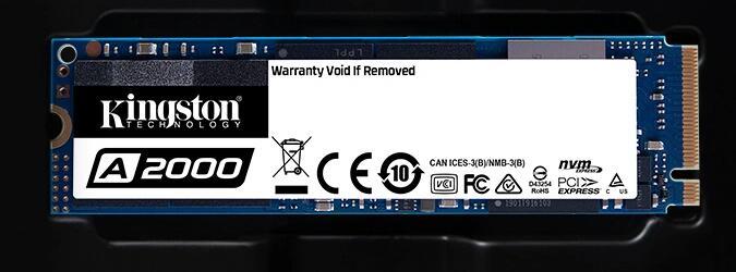 Kingston 1000G A2000 NVMe PCIe M.2 2280 1TB SSD