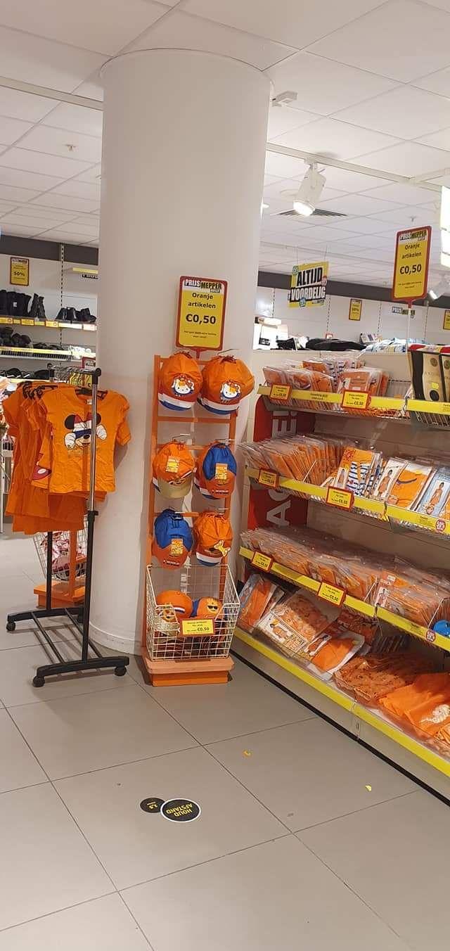 Lokaal - Prijsmepper Geleen- Alle oranje artikelen maximaal €0,50