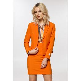 Oranje damespak voor Koningsdag