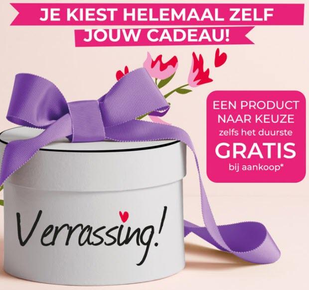 Tot max 6 gratis parfums of Duurste product gratis + 50% korting + 2 cadeaus en gratis verzending @ Yves Rocher