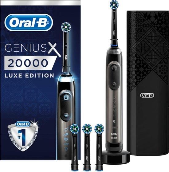 Oral B genius X 20000 luxe edition grijs goedkoopste