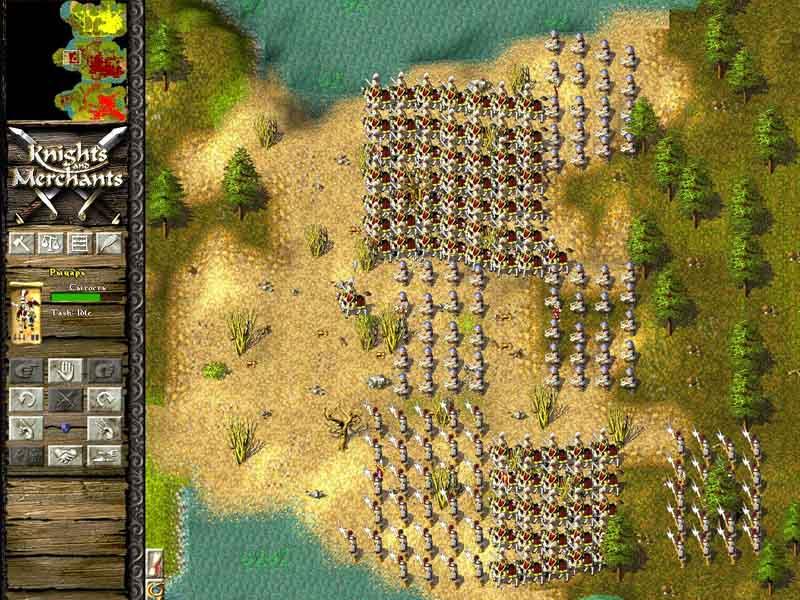 Knights and Merchants Steam Key voor €0,06 met code @ Gamivo