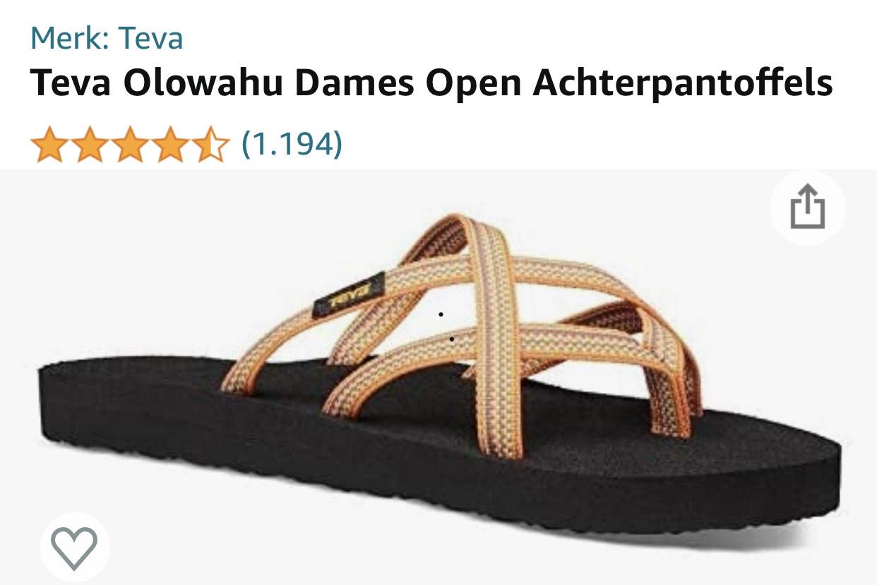 Teva's slippers Olowahu