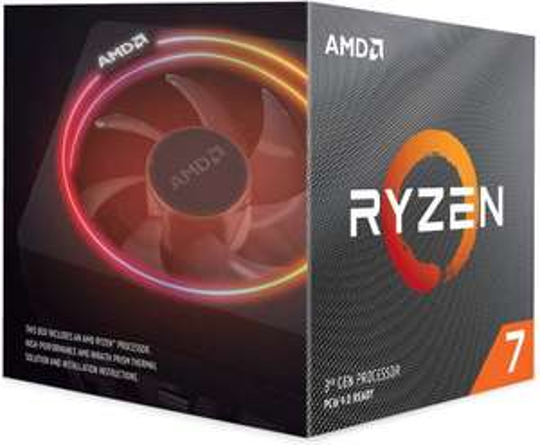 AMD Ryzen 7 3700X Processor, 4Ghz AM4 36MB Cache Wraith Prism