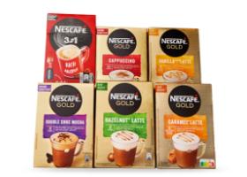 Gratis bezorging (á €4,99) bij aankoop van 3 stuks Nescafé oploskoffie (alle varianten) voor €4,99 @ Coöp (week 17)