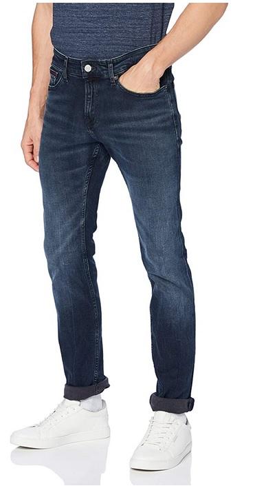 Tommy Jeans heren broek SCANTON SLIM MDBST