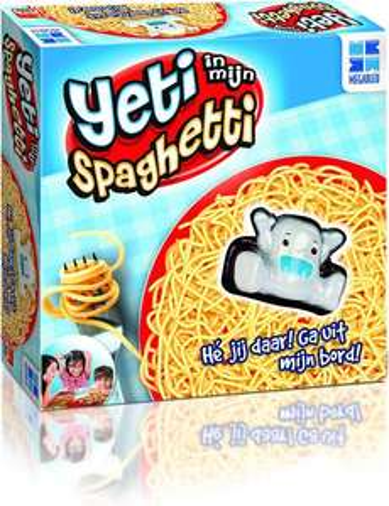 Yeti in mijn Spaghetti - Familiespel @ bol