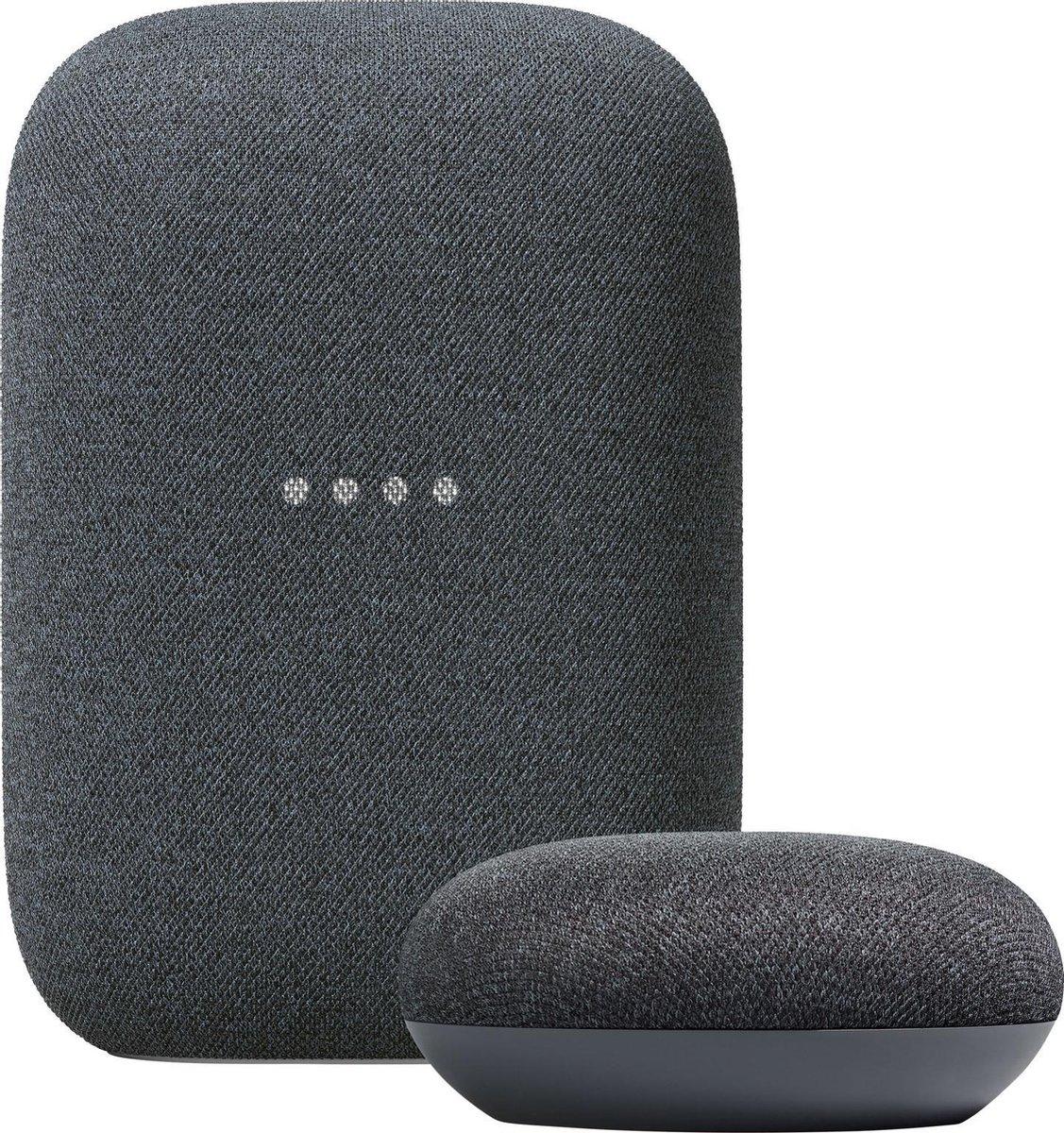 Nest audio + nest mini (charcoal of chalk)