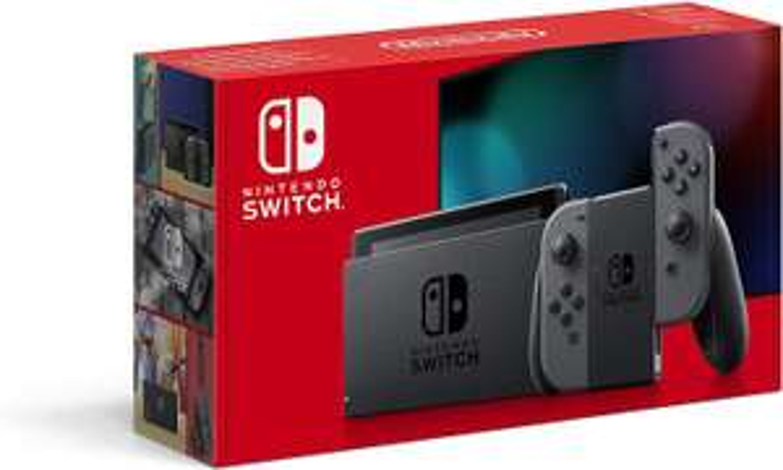 Nintendo Switch Console grijs @Amazon FR