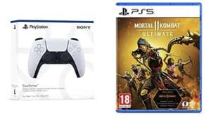 PlayStation 5 DualSense Wireless Controller & Mortal Kombat 11
