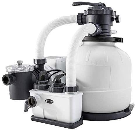 Intex CG-26676 Zandfilterpomp 6m³ en zoutwater systeem
