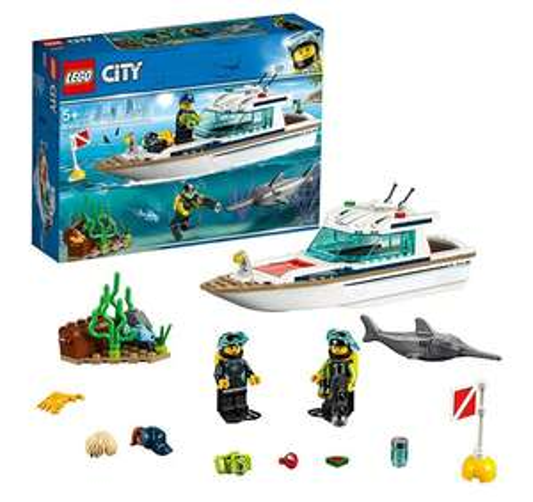 Lego - Duikjacht (60221)