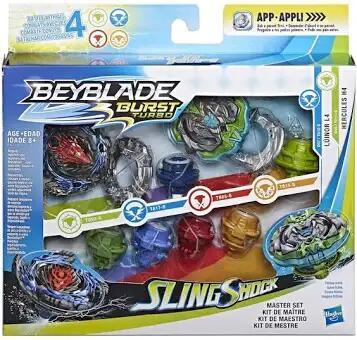 Beyblade slingshock master set