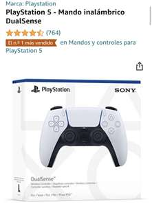 PlayStation 5 controller bij Amazon.es