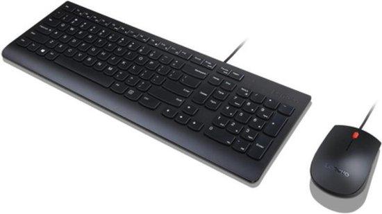 Lenovo Essential Wired Combo - Toetsenbord en muis set