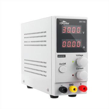 TOPSHAK K3010D 30V 10A instelbare gelijkstroomvoeding