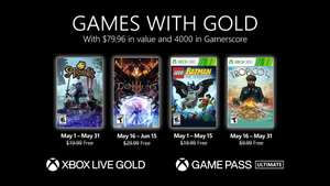 Games with Gold - mei 2021 @ Xbox Store